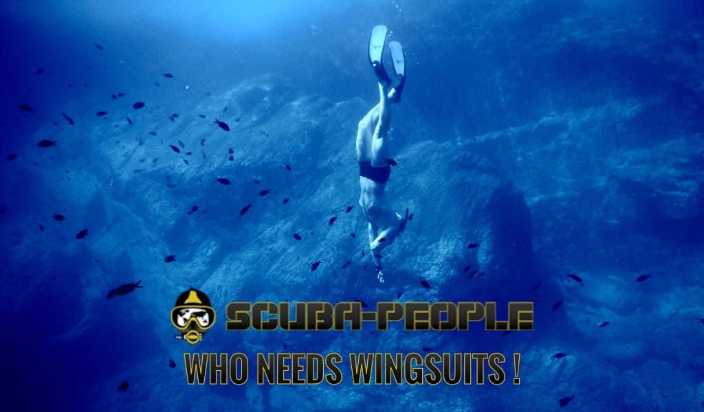 pour un apneiste qui a besoin d'un wingsuit !