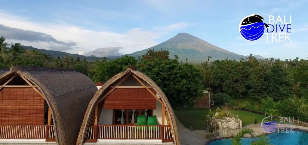 mount agung and resort
