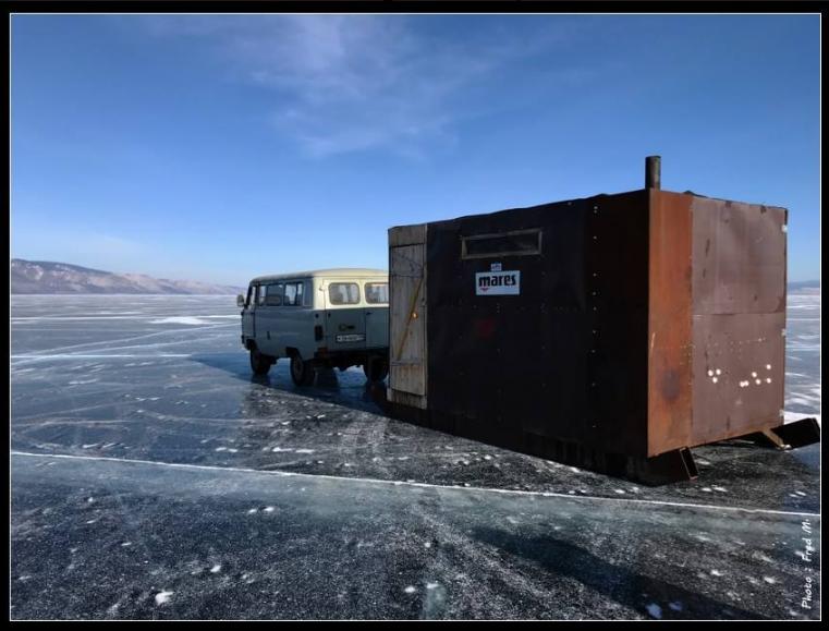 plongée sous glaces, destination de plongée, lac baïkal, plongée en russie