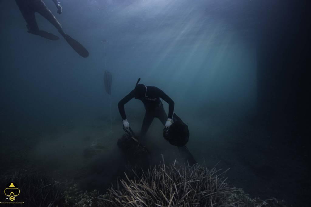 onderwater schoonmaken