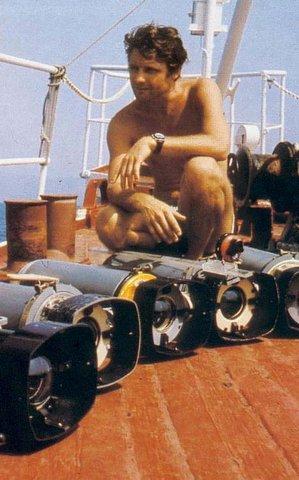u futur plongeurs de la caplypso
